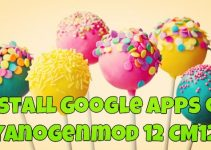 Install Google Apps on Cyanogenmod 12 CM12