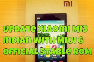 Update Xiaomi Mi3 Indian with MIUI 6 Official Stable ROM