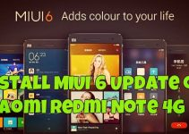 Install MIUI 6 Update on Xiaomi Redmi Note 4G