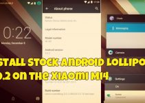 Install Stock Android Lollipop 5.0.2 on the Xiaomi Mi4