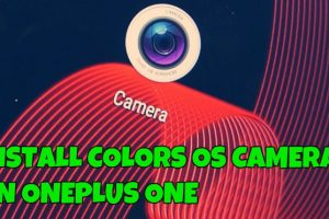 Install Color OS Camera on OnePlus One