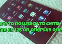 Guide to Rollback to CM11s from CM12S on OnePlus One