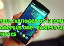 Install Cyanogen OS 12 (CM12S) On OnePlus One