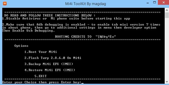 mi4i-rooting-tool