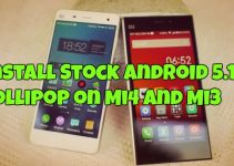Install Stock Android 5.1.1 Lollipop on Mi4 and Mi3