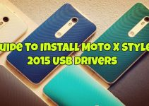 Install Moto X Style 2015 USB Drivers