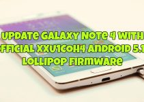 Update Galaxy Note 4 with Official XXU1COH4 Android 5.1.1 Lollipop Firmware