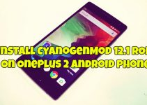 Install CyanogenMod 12.1 ROM On OnePlus 2 Android Phone