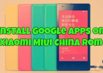 install Google apps on Xiaomi MIUI China Rom