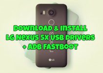 Download & Install LG Nexus 5X USB drivers ADB Fastboot