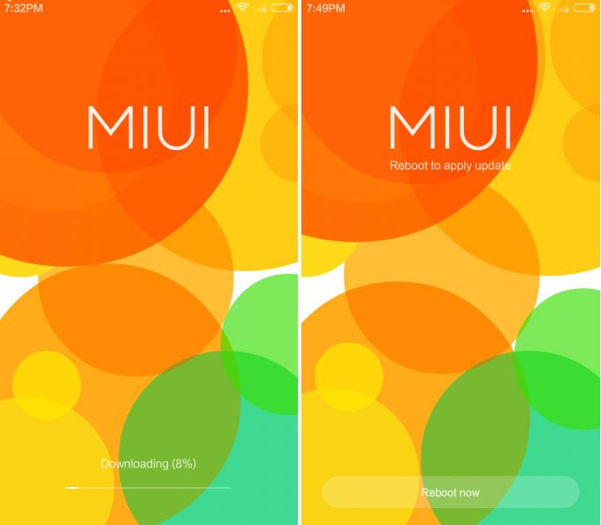 Reboot MIUI7