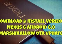 Download & Install Verizon Nexus 6 Android 6.0 Marshmallow OTA update