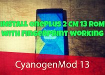 OnePlus 2 CM 13 ROM with Fingerprint working