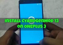 Install CyanogenMod 13 on Oneplus 3