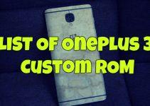 OnePlus 3 Custom ROM
