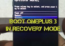 Oneplus3 recovery mode
