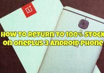 Stock on OnePlus 3