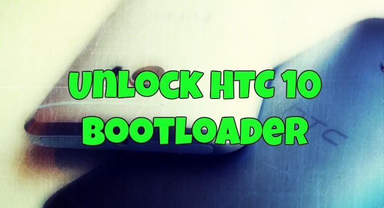 Unlock HTC 10 Bootloader