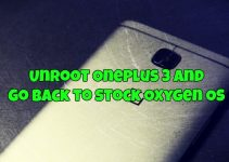 Unroot OnePlus 3 and Go Back to Stock Oxygen OS