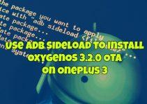 Install OxygenOS 3.2.0