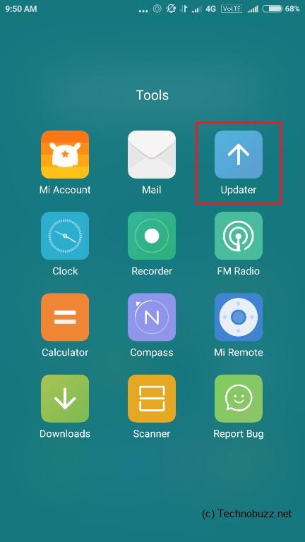 MIUI Updater App