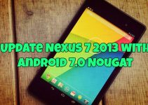 Update Nexus 7 2013 with Android 7.0 Nougat