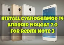 cm14-for-redmi-note-3