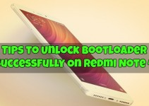 Unlock Bootloader Redmi Note 4