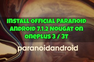 Install Official Paranoid Android