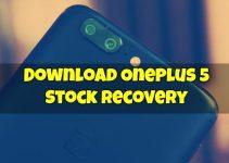 OnePlus 5 Stock Recovery