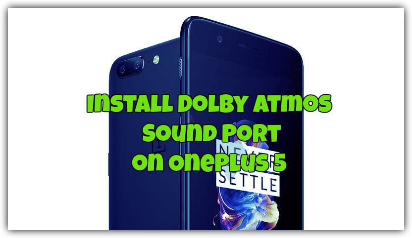 Improve OnePlus 5 Sound Quality