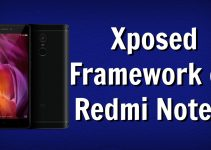 Install Xposed Framework on Redmi Note 4