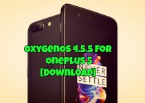 OxygenOS 4.5.5 For OnePlus 5