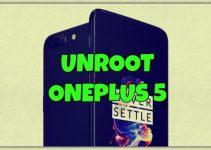 Unroot-Oneplus-5