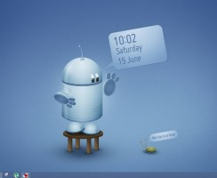 Add Animated Wallpaper Clock On Your Windows 8, 7