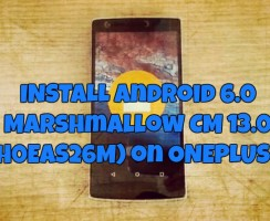 Update OnePlus One with Official Android 6.0 Marshmallow