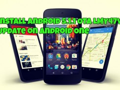 Install Android 5.1.1 OTA LMY47V Update on Android One – Micromax Canvas A1, Karbonn Sparkle V, Symphony Roar A50, Nexian Journey One Mi438S