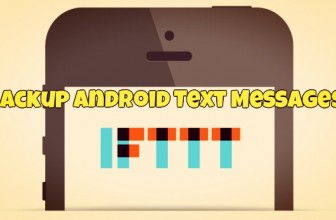 Use IFTTT to Backup Android Text Messages (SMS) on Google Drive