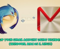 Back Up Your Gmail Account Using Thunderbird (Windows, Mac OS X, Linux)
