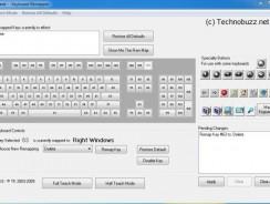 Reconfigure Your Computer Keyboard With KeyTweak