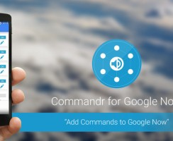 Add Custom Google Now Commands on Android with Commandr App