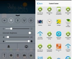 Get iOS 7 Control Center Look on Your Android with Control Center App