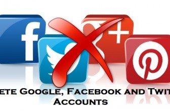 How I Deleted My Google, Facebook and Twitter Account