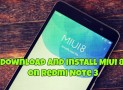 Download And Install MIUI 8 on Redmi Note 3 (MIUI 8.0.1.0.LHOMIDG Global Stable Version)