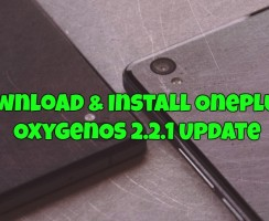 Download & Install OnePlus X OxygenOS 2.2.1 Update