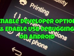 How to Enable Developer Option & Enable USB Debugging on Android
