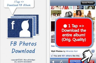 How to Download Facebook Photo Albums on iPhone