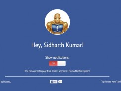 Get Facebook Notification on Desktop without Opening Facebook