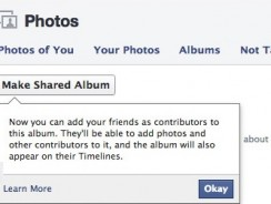 How To Create Shared Photo Albums on Facebook