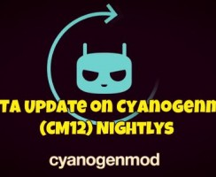 How to Get OTA Update on Cyanogenmod 12 (CM12) Nightlys